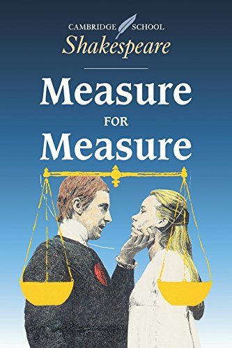 Measure for Measure (Cambridge School Shakespeare) (Measure For Measure As A Problem Play)