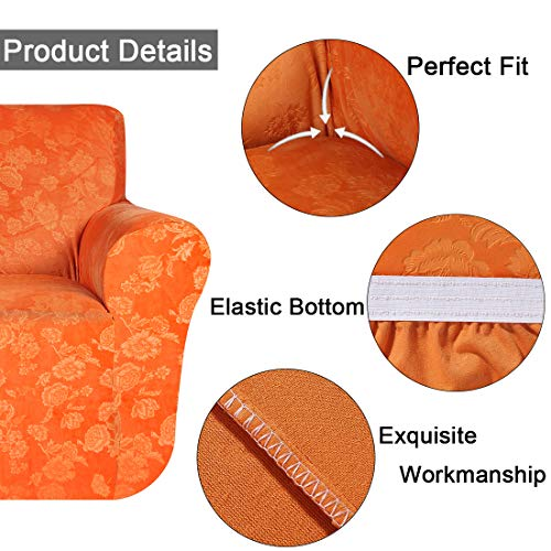 해외구매대행 26 58 Smiry Velvet Stretch Sofa Cover Soft Non Slip