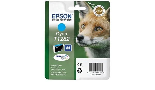 Epson Stylus SX130 impresora cartucho de tinta Original - cian ...