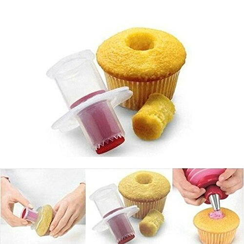 Joinwin 1 pcs Kitchen Baking Cupcake Bread Cake Model Pastry Corer Plunger Cutter Decorating hot by Joinwin