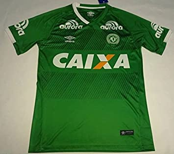 Chapecoense 2016 2017 Home Soccer Jersey Stadium Shirt Short Sleeve  Amazon. co.uk  Sports   Outdoors ec076dbc0