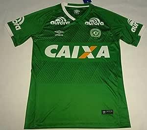 Camiseta del Chapecoense 2016/2017, manga corta : Amazon.es ...