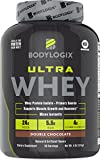 Bodylogix Ultra Whey NSF Certified Protein Powder, Double Chocolate, 4 pounds For Sale