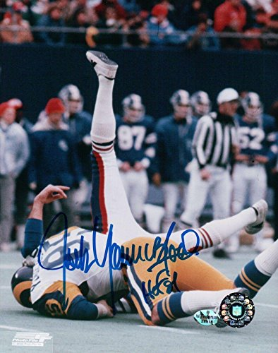 Jack Youngblood Signed 8X10 Photo Autograph