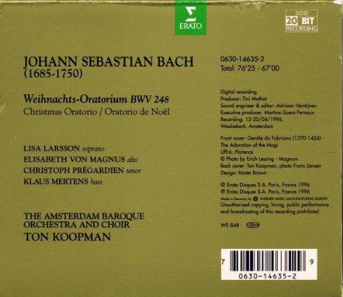 J.S Bach: Weihnachts-Oratorium / Christmas Oratorio