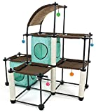 Cat Tree Tower Kitten Condo Furniture Play Perch Pet House Scratch Post + FREE E-Book