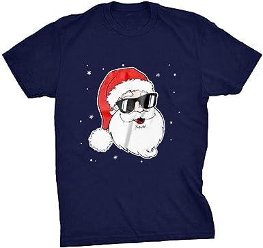 K-Youth Camiseta Hombre Navidad Parejas Ropa Adolescentes Chico Casual Blusa Mujer Navideños Chandal Mujeres T Shirt Camisetas Manga Corta Hombre Deporte Camisas Hombres Talla Grande: Amazon.es: Ropa y accesorios
