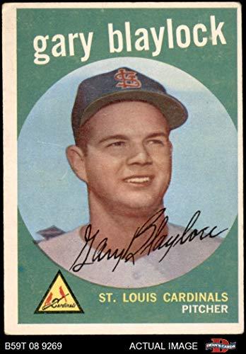 1959 Topps # 539 Gary Blaylock St. Louis Cardinals (Baseball Card) Dean's Cards 3 - VG Cardinals