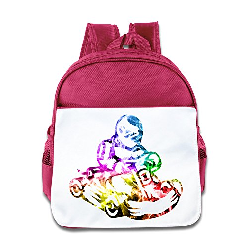 Price comparison product image Mostafa Gokart Cartoon Custom Children Kids Girls Boys Baby School Bags Book Bags Backpack