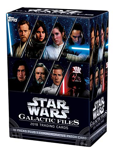 (2018 Topps Star Wars Galactic Files - Value Box)