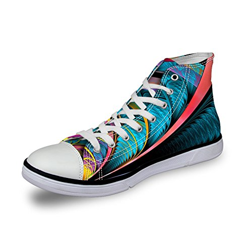 Kramar Idé Färgglada Mode Kvinna Kängor Tygskor Sport Sneakers Coloful 14