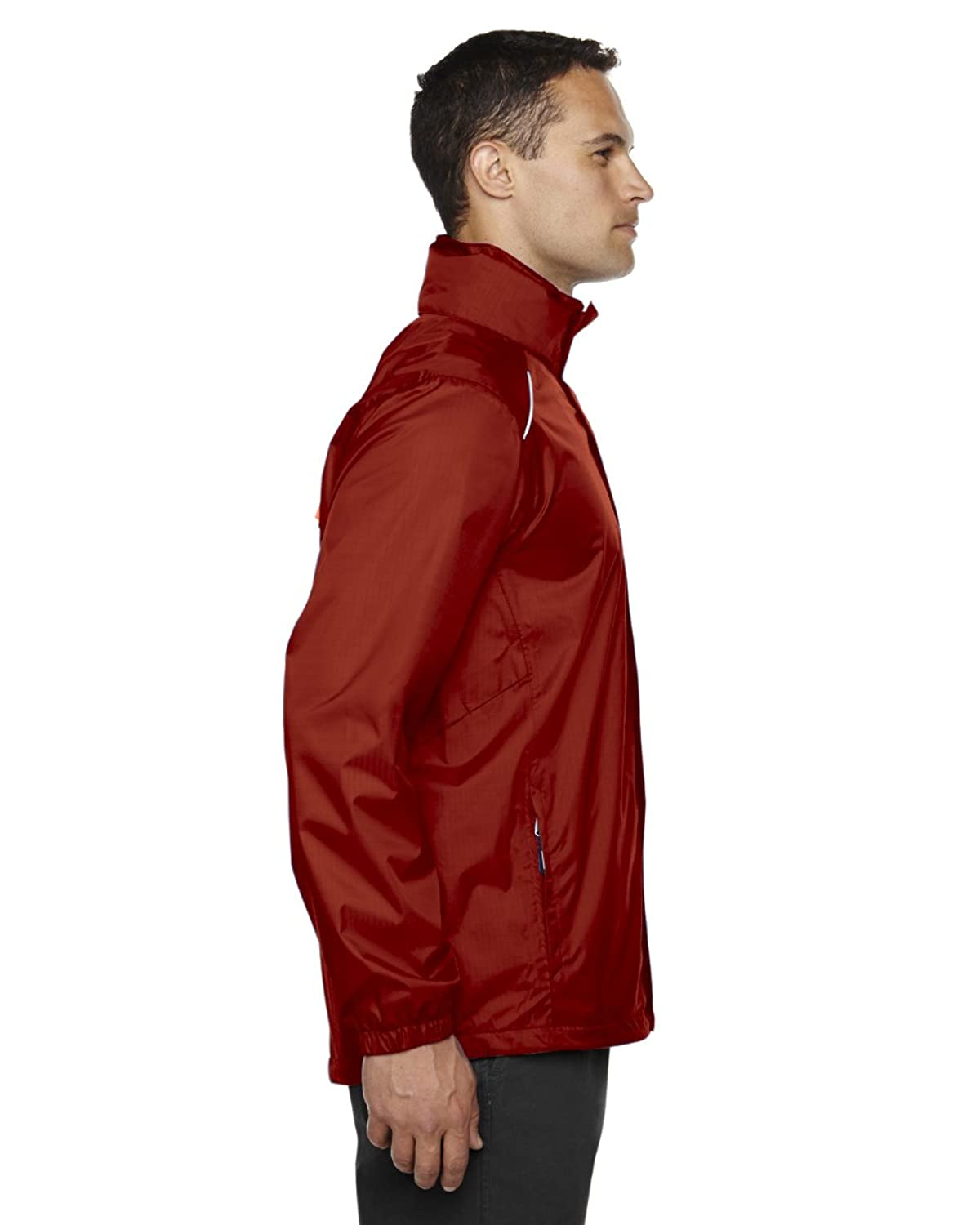 Core 365 mens Climate Seam-Sealed Variegated Ripstop Jacket - 88185