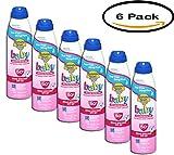 Banana Boat Baby Tear-Free Sting-Free Lotion Spray Sunscreen Broad Spectrum SPF 50 - 6 oz, 6pck