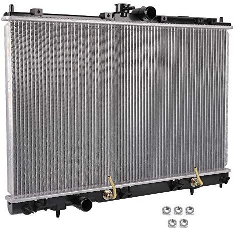 OCPTY Aluminum Radiator Replacement fit for CU2617 2003 2004 2005 2006 Mitsubishi Outlander MN180842