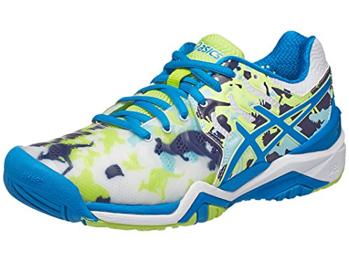 Asics E760Y-0143S17 Women`s Gel-Resolution 7 Limited Edition Melbourne Tennis Shoes