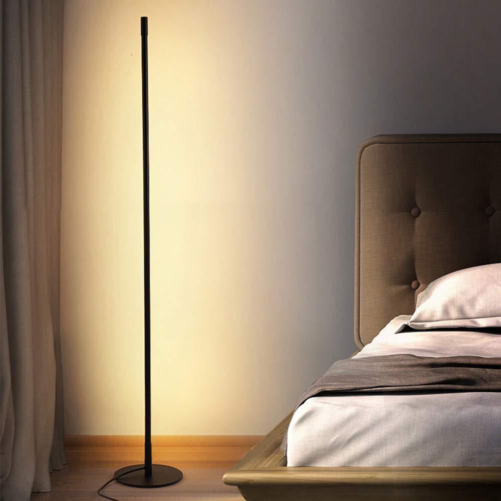 UFLIZOGH Stehlampe LED Dimmbar moderne 15CM mit Fernbedienung 15W