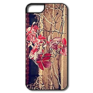 Cute Red Leaves IPhone 5/5s Case For Him