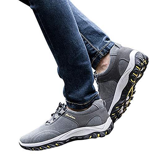 Senderismo Aire Hombres Senderismo Manada Sneakers Zapatos Gris Al ALIKEEYLos De Moda Libre De Impermeable De Botas XwfRw