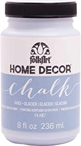 FolkArt Home Decor Chalk Furniture & Craft Paint in Assorted Colors, 8 ounce, Glacier
