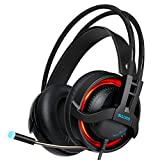 DZT1968 SADES R2 Colorful Stereo Wired Surround Gaming Headset Headband Mic Headphone