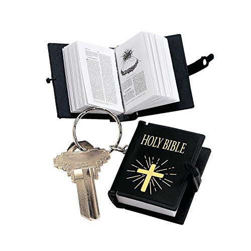 Price comparison product image Plastic Bible Key Chains (1 dz)