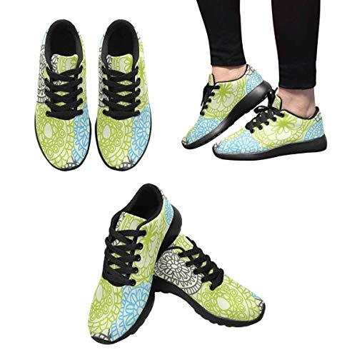 Floral Custom Running Sneaker Design InterestPrint Women's Stylish 3 Pattern q6TOx