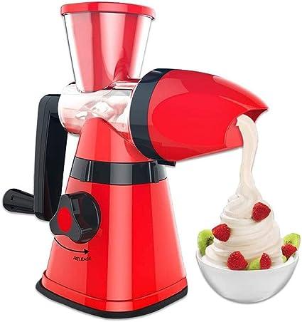 LOISK Máquina de Hacer Helados, DIY Heladera de Frutas Ice Cream ...