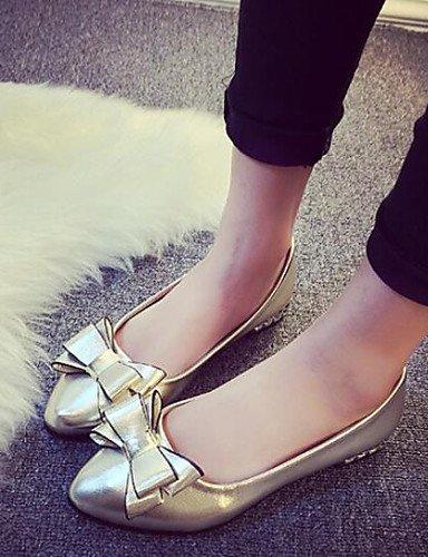 us6 talón cn37 Toe 5 7 moda eu37 bombas zapatos bowknot mujeres punta de Las 5 black 5 de soporte de uk4 PDX w6y1Xq4H