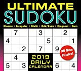 "2019 Ultimate Sudoku Boxed Daily Calendar: by Sellers Publishing, 6"" x 5"" (CB-0530)"