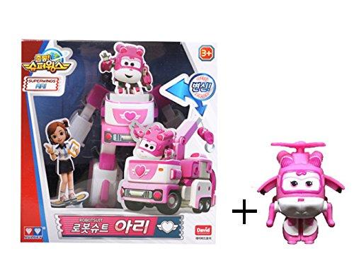Super Wings Season 2 - ARI Robot Suit + mini ARI