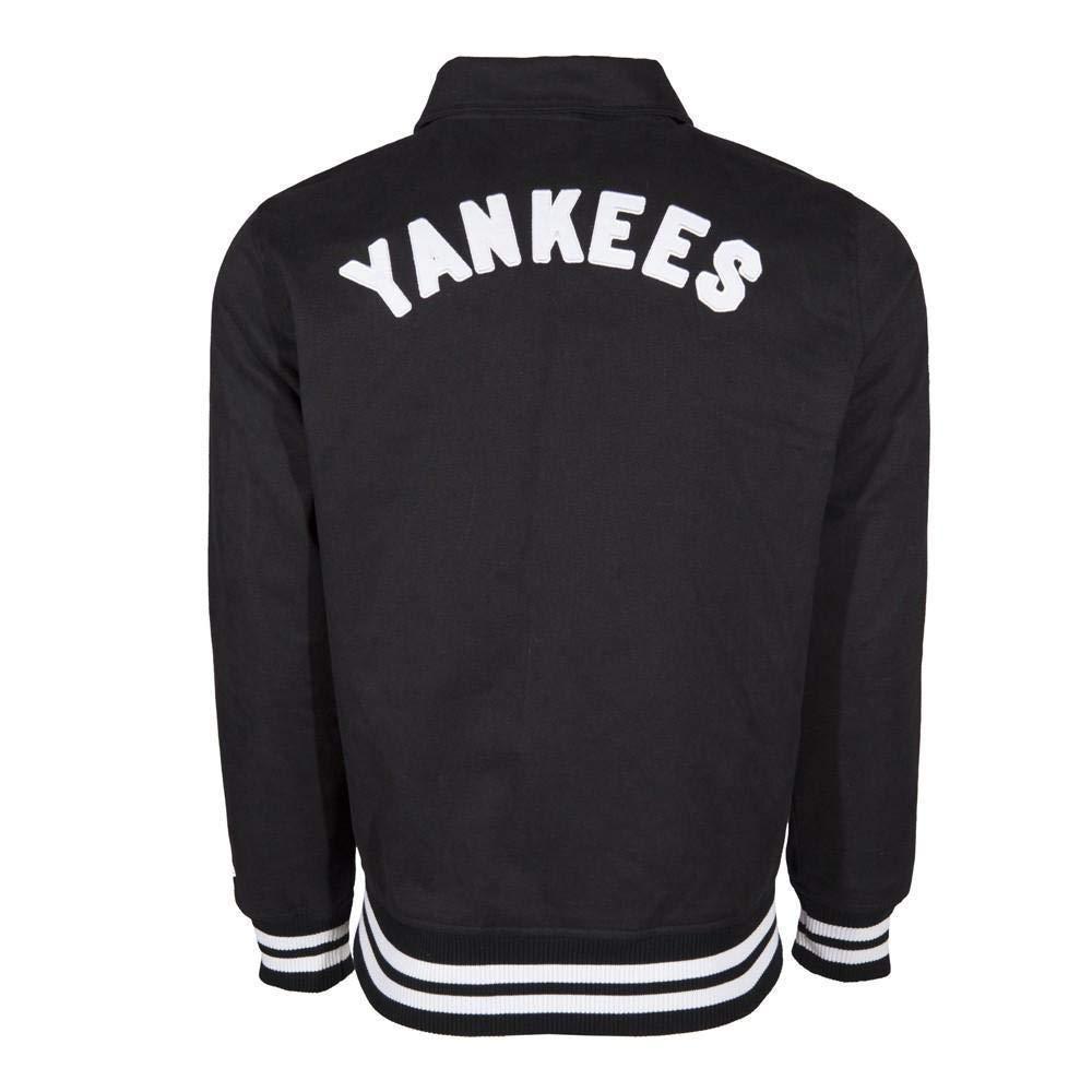 New Era MLB NEW YORK YANKEES Cotton Twill Jacket: Amazon.es ...