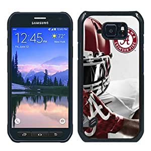 Hot Sale Southeastern Conference Sec Football Alabama Crimson Tide 6 Black Samsung Galaxy S6 Active Screen Phone Case Fashion and Luxury Design