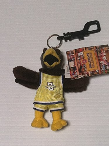 Marquette Chain (Marquette Golden Eagles Plush Mascot Keychain)