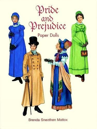 Pride and Prejudice Paper Dolls (Dover Paper Dolls) (Historical Costume Ideas)