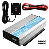 remote control camper - GIANDEL 2000W Power Inverter 12V DC to 110V 120V AC with Remote Control and Dual AC Outlets &1x 2.4A USB Port and LED Display for Home Emergency RV Truck Solar System