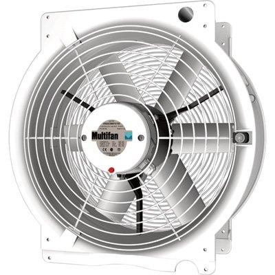 Multifan 20in. Q Greenhouse Fan - 4765 CFM, 1/2 HP, 240 Volt, Model Number T4E5002M81100 by Multifan