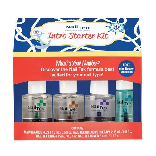 Nail Tek Nail Treatments - Intro Starter Kit - 15ml / 0.5oz Each
