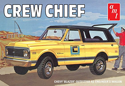 AMT 897/12 AMT 1/25 1972 Chevy Blazer Crew Chief