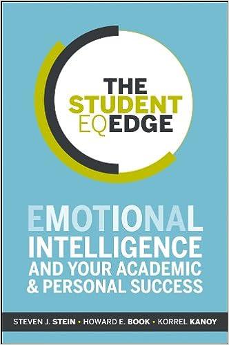 Amazon The Student Eq Edge Emotional Intelligence And Your