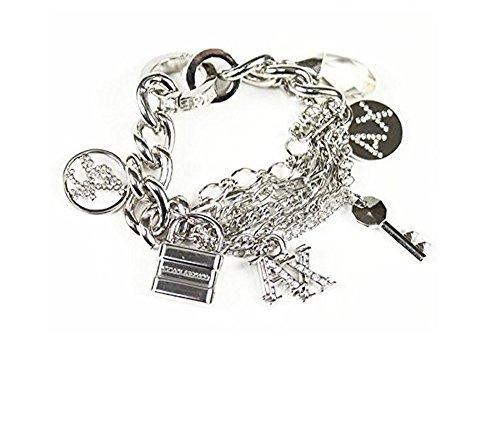 Armani Exchange A|X Women's Multi Link Charm Bracelet (Armani Bracelet)