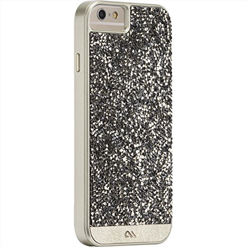 800 Champagne (Case-Mate iPhone 6 Case - BRILLIANCE - 800+ Genuine Crystals - Apple iPhone 6 and 6s - Champagne)