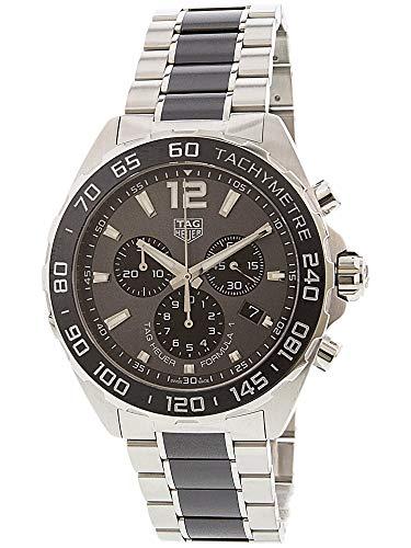- TAG Heuer Men's 'Formula 1' Swiss Quartz Stainless Steel Dress Watch, Color:Silver-Toned (Model: CAZ1011.BA0843)