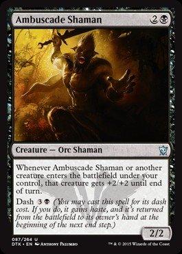 Magic: the Gathering - Ambuscade Shaman (087/264) - Dragons of Tarkir
