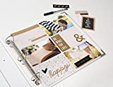 12 x 12-inch (6-4x6-inch pockets) 3-Ring Album Page Protectors by We R Memory Keepers | 50 pack