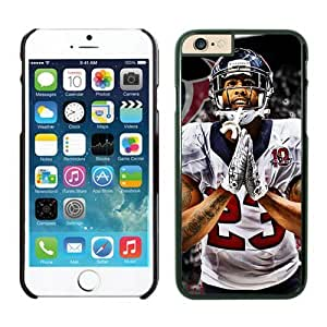 Houston Texans Arian Foster Case For iPhone 6 Black 4.7 inches