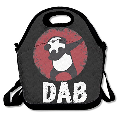 RSTG Panda Dab Dance Style Lunch Tote Bag