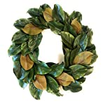 Down-Home-Designs-Realistic-Artificial-Southern-Magnolia-Wreath-Door-Hanger-20-Inch