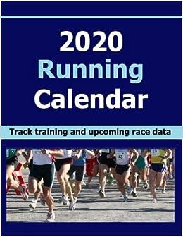 Fitness Calendar 2020 2020 Running Calendar: Keep record of your running training data