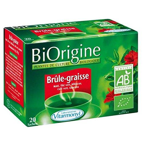 biorigine Kräutertee Tendance Fett 20Beutel 32G