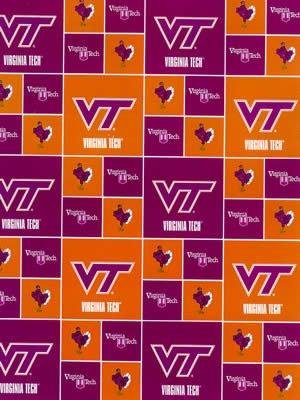 Virginia Tech By Sykel - 100% Cotton 44